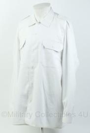 Korps Mariniers en Defensie DT wit overhemd - lange mouwen - maat 7090/1015 -