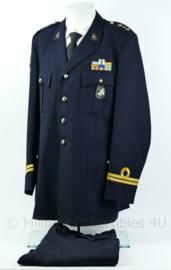 Korps Mariniers Barathea uniform set - Kapitein der Mariniers - maat 55 3/4 - Origineel