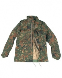 US Field Jacket with liner M65 FLECKTARN