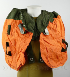 Britse leger en Korps Mariniers Life Preserver Waistcoat Parachutist MK2 Inflatable Reddingsvest voor om de nek- origineel