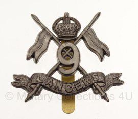 WW2 9TH (QUEEN'S ROYAL) LANCERS  cap badge in geschenk- of displaydoosje