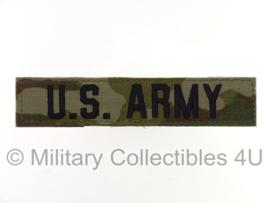 US Army OCP multicamo branch tape/naamlint met klittenband - nieuw gemaakt