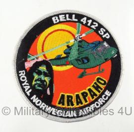 Noors Arapaho Bell 412 SP embleem met klittenband - origineel