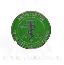 Defensie brevet Assistenten in de gezondheidszorg AA speld - diameter 3 cm