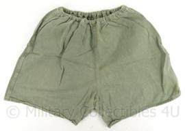 MVO korte broek - 1958 - groen - maat 14 = 80 cm. omtrek - origineel
