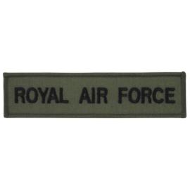 RAF Royal Air Force naamlint 14 x 3,5 cm.  ongebruikt - origineel