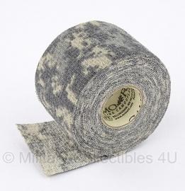 MCNett Camo Form US Army ACU camouflage tape voor uitrusting e.d. -  5 cm. breed en 3,66 meter lang   -  origineel