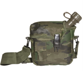 Veldfles 1,9 liter model - woodland camo