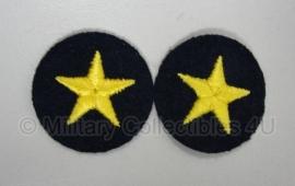 Kriegsmarine officiers rang sterren paar (2 stuks)