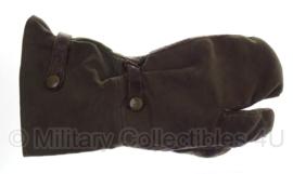 WO2 Duitse enkele linker handschoen voor schutters - origineel