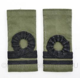 Korps Mariniers GVT epauletten - 1e Luitenant - origineel