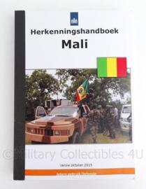 "Handboek KL ""Herkennings handboek Mali Oktober 2015 - origineel"