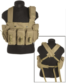 Chest rig 6 pocket - Coyote