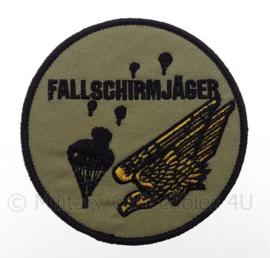 """Duits Parachutisten embleem """"Fallschirmjager""""- diameter 9 cm"""