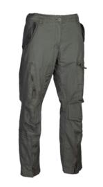 Flight trouser VINTAGE Straight Cut katoen - OD Green - maat Small t/m 3XL