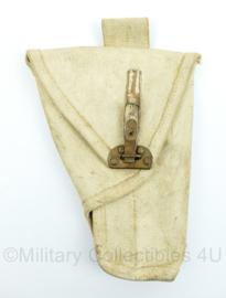 MVO holster - Webbing - voor militaire politie - wit - 24 x 18 x 2 cm - origineel