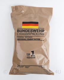 Bundeswehr EPA Einmannpackung Individual Combat Ration rantsoen zak - Type 1 Vegetarian