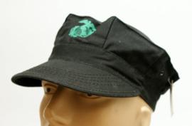 USMC pet - ZWART camo met zwart USMC logo- one size fits all