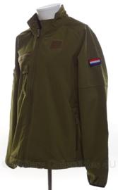 KL Nederlands leger softshell jack met NSN nummer - nieuw - maat XL  - origineel