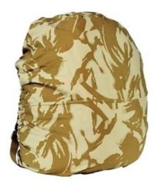 Britse rugzak DESERT DPM camo overtrek SMALL voor 30 tot 40 liter rugzakken Cover pouch Side Rucksack - origineel