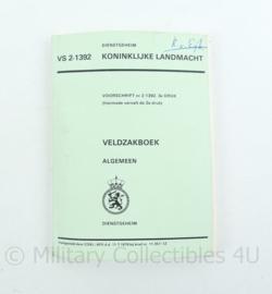 Koninklijke Landmacht veldzakboek 1979 algemeen VS 2- 1392 - origineel