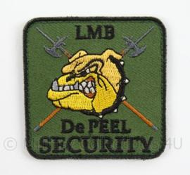 Luchtmacht Basis De Peel Security borst embleem - met klittenband - afmeting 5,5 x 5,5 cm - Origineel