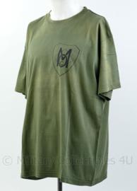 Defensie T-shirt MOC Militaire Oldtimer Club - maat XXL - origineel