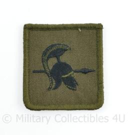 Defensie borst embleem verkenners - met klittenband - 5 x 5,5 cm - origineel