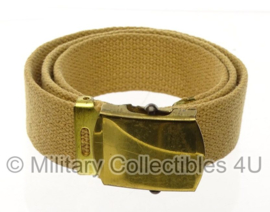 WO2 US Officers broekriem - 80 cm - origineel