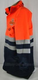 Royal Mail Reflector jas - Oranje - zonder VOERING - Medium of large - origineel