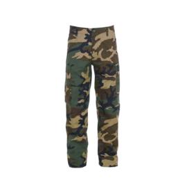 KINDER Woodland camo uniform broek  - nieuw gemaakt