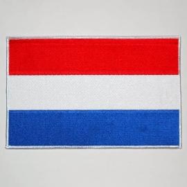 Uniform Landsvlag Nederlandse vlag voor uniform e.d. - Extra Large - 25 x 15 cm