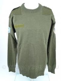 Oostenrijkse leger trui VN - wol - ongebruikt - Maat Medium of L/XL - origineel