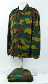 NL Politie BBE Bijzondere Bijstands Eenheid matching camo jas en broek set met uniek serienummer - maat 50 - zeer zeldzaam! - origineel