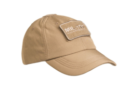 Baseball cap Softshell - verstelbare maat - COYOTE