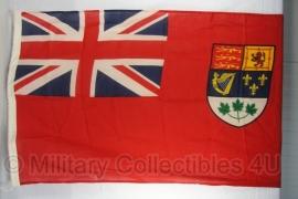 Oorlogse Canadese vlag  - katoen ! (model 1921 - 1957)