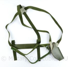 Britse en Nederlandse leger Holster Aircrew schouderholster GROEN  - origineel