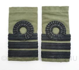Korps Mariniers GVT epauletten - Luitenant Kolonel - origineel