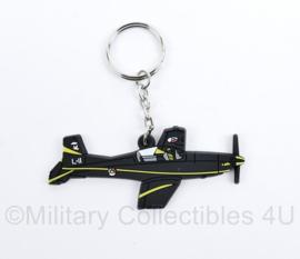 KLU Koninklijke Luchtmacht sleutelhanger - 8 x 3,5 cm - NIEUW - origineel