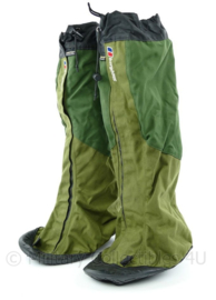 Korps Mariniers Berghaus Jeti attak GoreTex gaiters apart model met rubber over de neus groen - maat Large - origineel