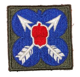 WO2 US Army 21st Corps patch - 6,5 x 6,5 cm - origineel