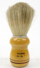 Scheerkwast - Mulbros - afmeting 4 x 14 cm - origineel