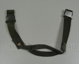 US Army M1 helmet  - kinriem   - origineel
