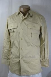 Leger Overhemd khaki nieuw in verpakking  - maat 41 - origineel