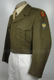 US M-1950 Ike jacket  specialist - size 42 S (NL maat 52) - origineel