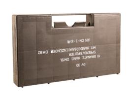 BW Bundeswehr handgranaat transportkist voor DM 51 handgranaten - origineel