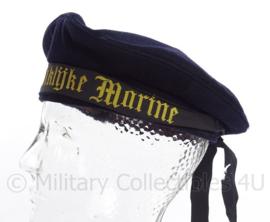 KM Koninklijke Marine matrozen muts model tot 1940 en 1955 tot heden - blauw  - maat 53 - origineel