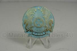 Griekse politie pet-embleem - 4 cm. diameter origineel