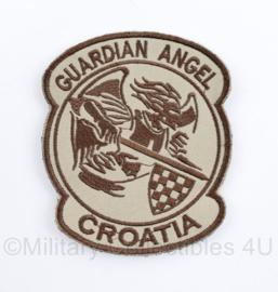 Guardian Angel Croatia patch - 9 x 8 cm - met klittenband - origineel