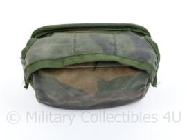 Korps Mariniers Forest Woodland camo opbouwtas borst algemeen - 9,5 x 14 x 6 cm - origineel